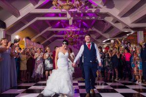 Oakwood hotel wedding photographer   Bride & Groom first dance  